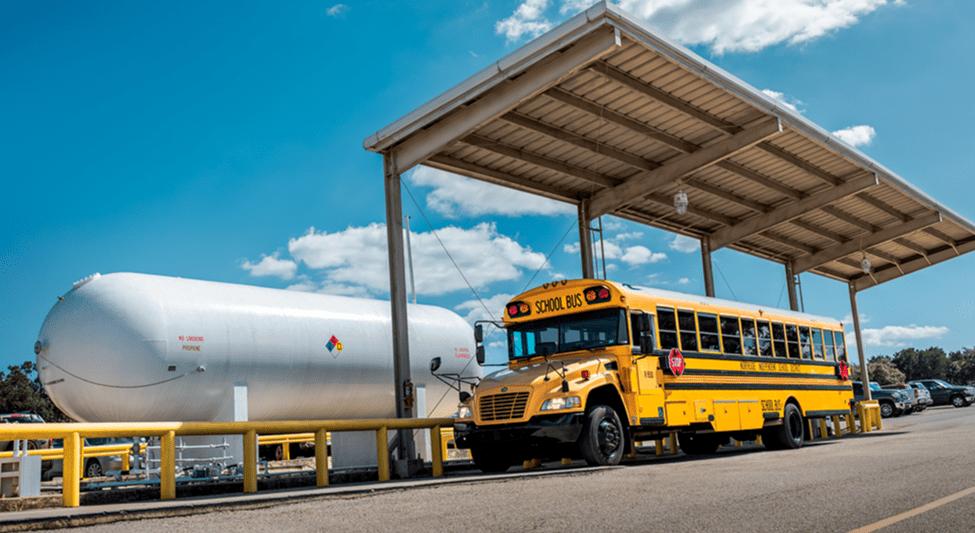 Ohio School Buses Run Green With Propane