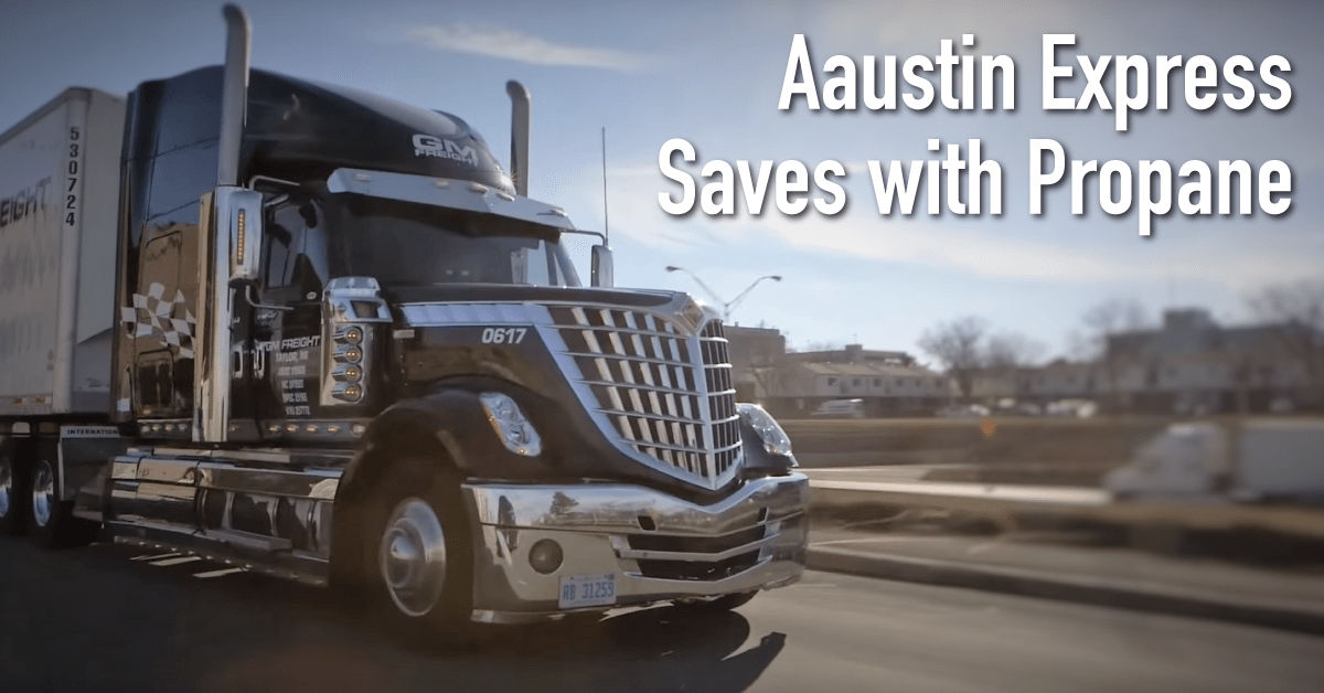 Aaustin Express Saves with Propane