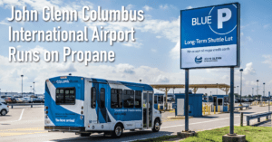 John Glenn Columbus International Airport Runs on Propane