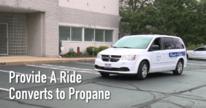 Provide A Ride Converts to Propane