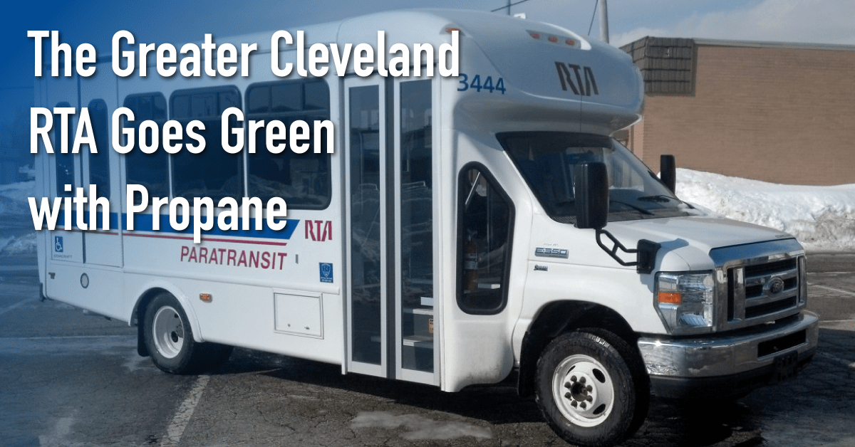 You are currently viewing The Greater Cleveland Regional Transit Authority Goes Green with Propane