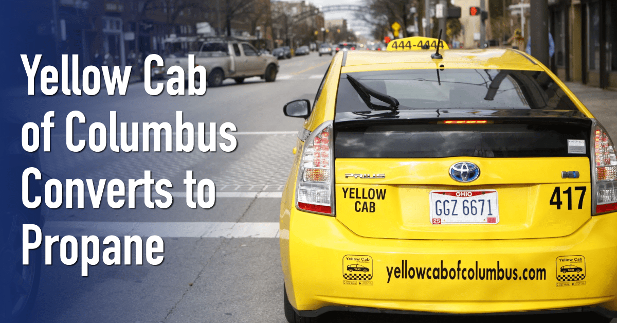 Yellow Cab of Columbus Converts to Propane AutoGas