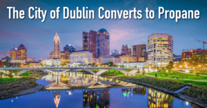 The City of Dublin Converts to Propane